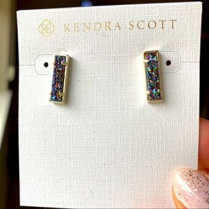 NWT Kendra Scott Drusy Lady earrings